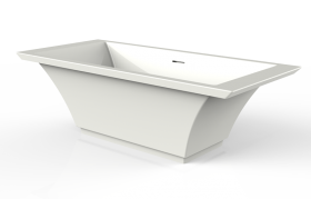 Finezza Bathtub in Sleek-Stone®