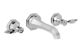 Topaz Wall-Mounted Lavatory Faucet