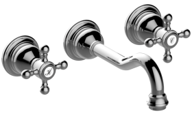 Adley Wall-Mounted Lavatory Faucet
