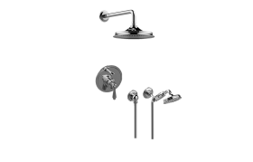 Pressure Balancing Shower System - Shower with Handshower