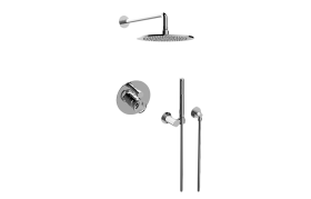 Pressure Balancing Shower System - Shower with Handshower (Rou