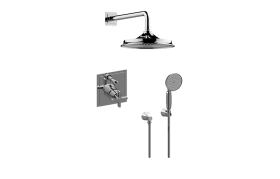 Finezza Full Pressure Balancing System - Shower and Handshower (Rough & Trim)