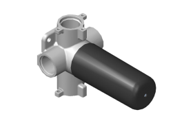 Three-Way Shared Function Diverter Control Valve WITHOUT Off Function (No Pass-Through)
