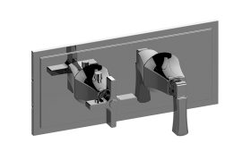 M-Series Valve Horizontal Trim with Two Handles