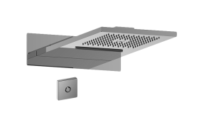 Dual-Function Water Feature with LED