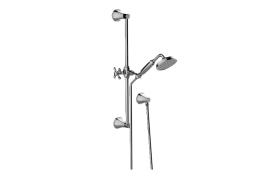 Finezza UNO Handshower w/Wall-Mounted Slide Bar