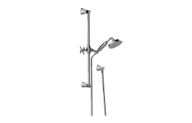 Finezza DUE Handshower w/Wall-Mounted Slide Bar