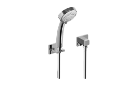 Multi-Function Round Handshower w/Wall Bracket