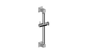 "16"" Square Grab Bar w/Handshower Holder"