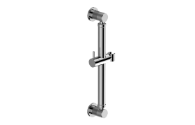 "16"" Round Grab Bar with Handshower Holder"