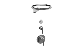 M-Series Thermostatic Shower System - Ametis Ring