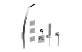 M-Series Full Thermostatic Shower System