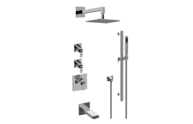 Immersion M-Series Thermostatic Shower System - Tub and Shower with Handshower