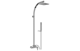 Qubic Exposed Shower System