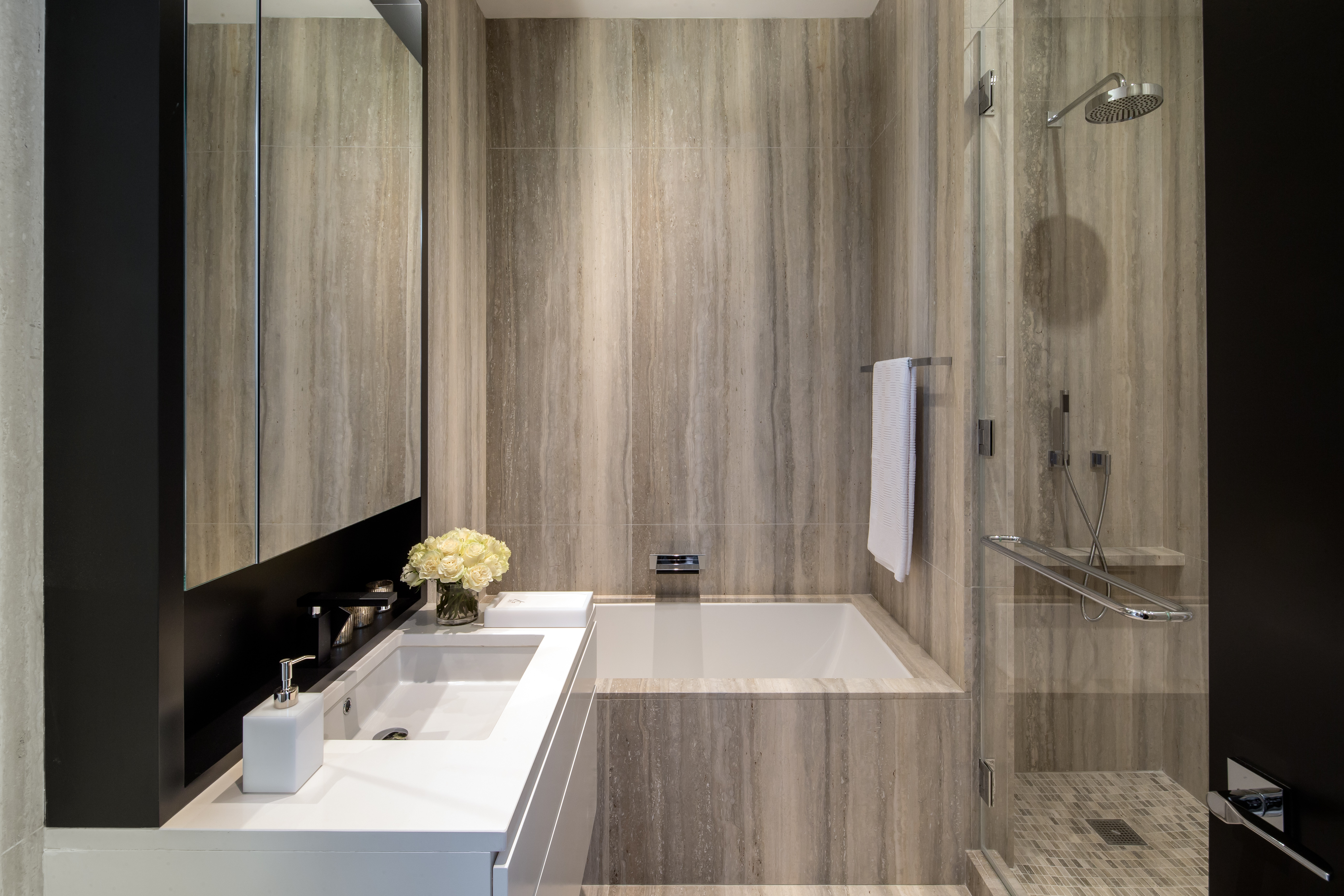 Bathroom Faucets Nyc graff furnishes luxury one57 bathrooms, nyc :: press releases