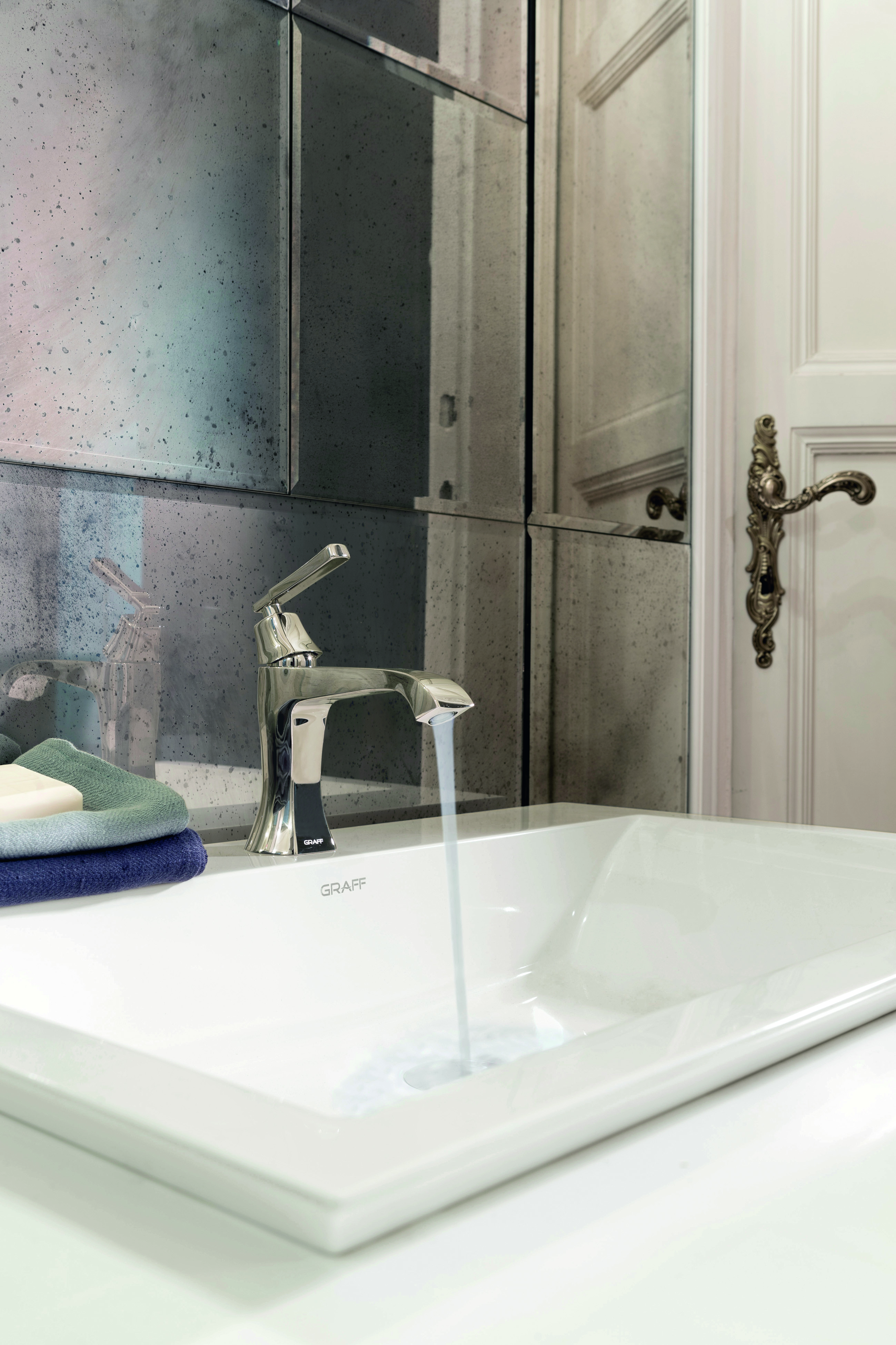 FINEZZA Debuts as the New Faucet Collection by GRAFF. Contemporary Bathroom Designs    GRAFF